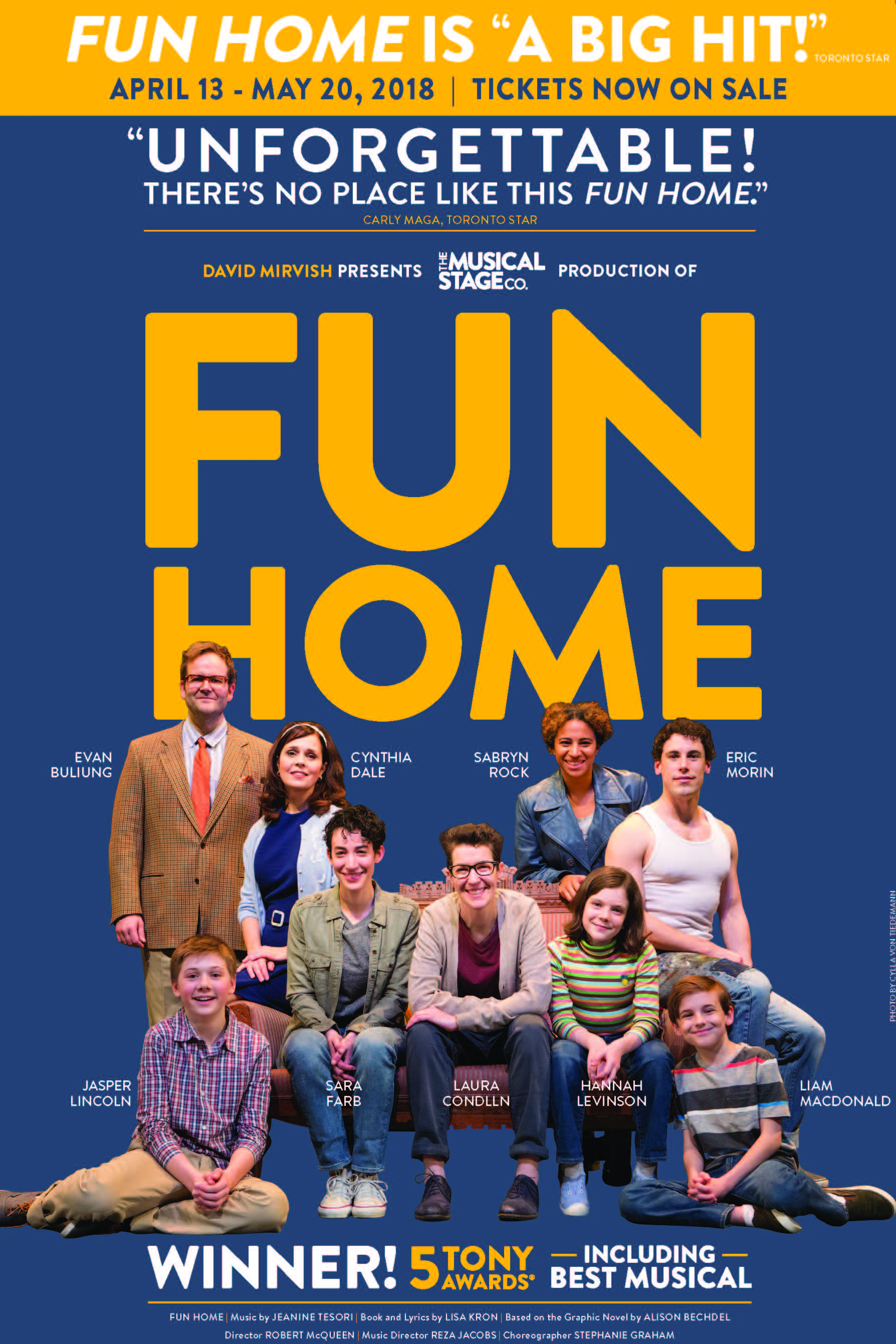 Fun Home (The Musical Stage Company)