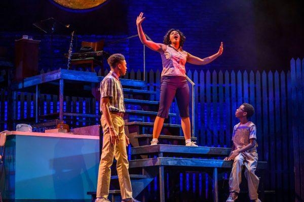 Moses Aidoo, Vanessa Sears & Micah Mensah-Jatoe. Photo by Dahlia Katz