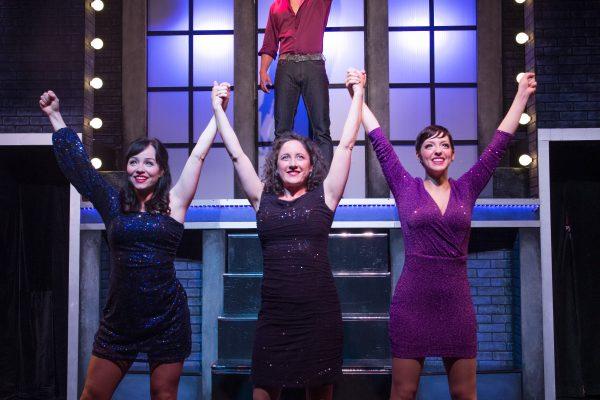 Jay Davis, Marisa McIntyre, Rebecca Auerbach & Steffi DiDomenicantonio. Photo by: Louise Vessey